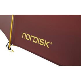 Nordisk Oppland 2 LW Tenda, rosso